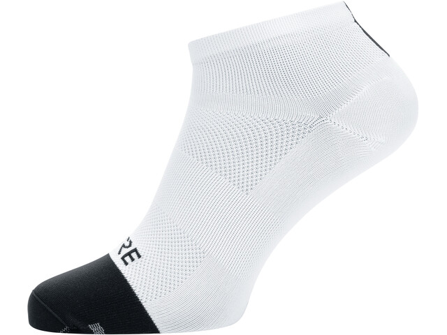 GORE WEAR M Light Short Socks Unisex white/black